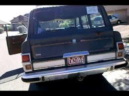 1989 jeep wagoneer limited 1982 jeep wagoneer limited sold youtube