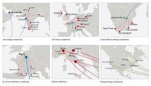 Seychelles Map Route Map Air Seychelles