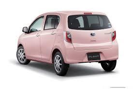 pink subaru will subie bring the thrifty tiny subaru pleo plus to the usa