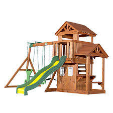 Backyard Adventures Price List Outdoor Swings Slides U0026 Gyms Ebay