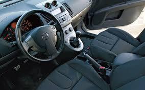 1997 Nissan Sentra Interior Honda Civic Si Vs Nissan Sentra Se R Comparison Motor Trend