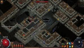 Poe Maps Path Of Exile Where Is The Waypoint In The Warehouses Area Arqade