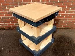 solid oak top u0026 pallet butcher block style kitchen island diy