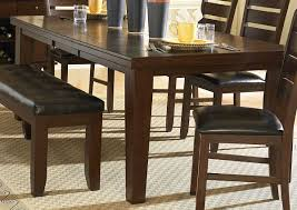 Oak Dining Room Homelegance Ameillia Dining Table Dark Oak Finish 586 82