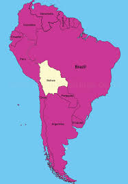 Columbia South America Map South America Map Bolivia World Maps
