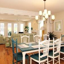 blue dining room table luxurious atlantic charm house dining room table set with custom