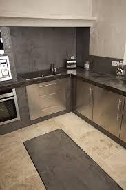 cuisine en beton cuisine béton ciré béton ciré