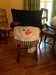 snowman chair covers craft snowman chair covers christmas table decoration ideas