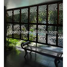 Decorative Carving Aluminum Perforated Outdoor Room Divider Buy