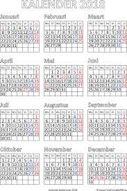 Kalendar 2018 Nederland Kalender 2018 Met Feestdagen Gratis Printbare Pdf