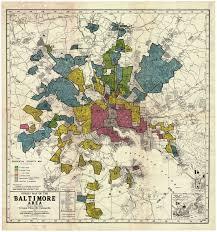 Baltimore City Map Miscellaneous Posts Redlining Baltimore Baltimore Homeowners