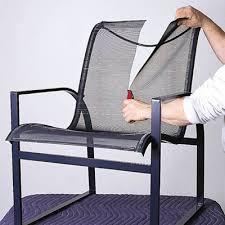 Patio Chair Sling How To Repair Aluminum Patio Chairs Patios Furniture Repair And