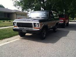 79 Ford Bronco Interior My