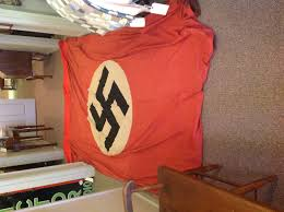 Huge Red Flag Need Help Three Items Kriegsflagge Pennant And Large Banner