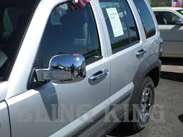 02 07 jeep liberty chrome handle mirror cover trim kit ebay