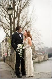 art deco wedding celebrations in paris with jenny packham dress