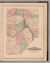 outline map of beaver county pennsylvania 1876 david rumsey