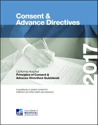 principles of consent and advance directives guidebook