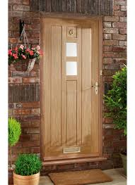 Solid Oak Exterior Doors Creative Of Hardwood Front Doors Wooden And Frames With Regard To