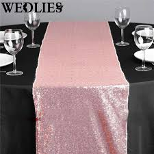 sequin table runner wholesale wholesale 12 x72 sequin table runner sparkly pink table cloth roll