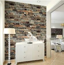 aliexpress com buy stone brick 3d wallpaper bedroom living room