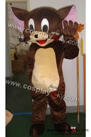 Tom Jerry Halloween Costumes Tom Jerry Mouse Mascot Costume Size Cosplaysky