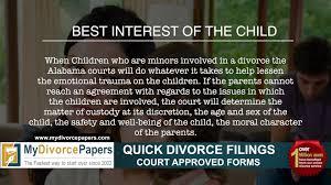 alabama divorce how to file alabama divorce forms