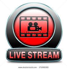 live stream video button icon sign stock illustration 171690395