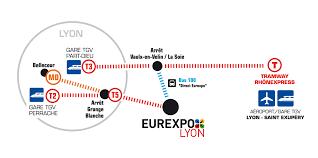 Lyon Metro Map by How To Get To Eurexpo Lyon U2013 Eurexpo