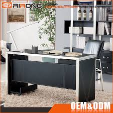 glass top office desk office table with glass top office table with glass top suppliers