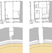 bullring floor plan refurbishment works of real maestranza bullring estudio carbajal