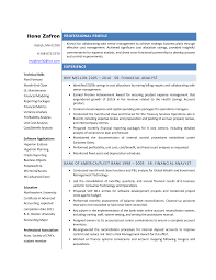 Resume For Finance Job by Finance Analyst Resume Template Examples