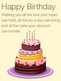 birthday wishes wishing you all the happy birthday wishes card birthday