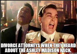 Madison Meme - your data from ashley madison was leaked carmelowalsh com