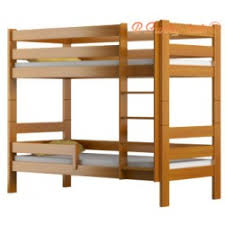 Solid Pine Bunk Beds Solid Pine Wood Bunk Bed Casper 160x80 Cm Bunk Beds For 2 Persons