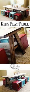 playroom table with storage playroom kids table diy play table playrooms and plays