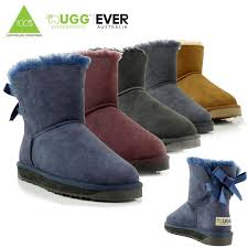 uggs on sale bailey bow womens ugg eversheepskins boot sheepskin 100 wool mini