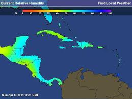caribbean weather map mer enn 25 bra ideer om caribbean weather map på