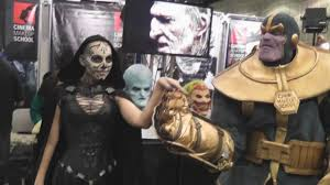 sfx makeup classes special fx makeup artists at wondercon 2016 for cinema