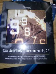 calculus early transcendentals 7 x x us 2017