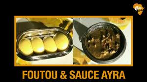 cuisine sauce ivoirienne recette de foutou banane sauce ayra cuisine ivoirienne