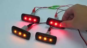 red led marker lights ram 1500 2500 3500 dually 2010 2012 side fender marker led light