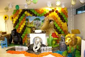 jungle themed baby shower safari baby shower decorations that look and beautiful home