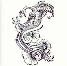 henna designed tattoo tattoo ideas pinterest skizzen