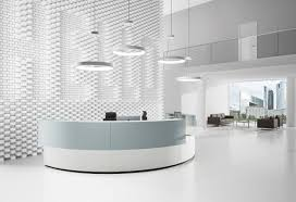 Modular Reception Desks Mesmerizing Modern Reception Desk Desks Modular Counters Corian