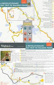 Boston Hubway Map by A Revolutionary Day Trip To Walden Pond U2014 Bikabout