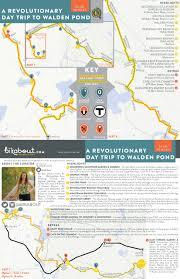 Boston Bike Map by A Revolutionary Day Trip To Walden Pond U2014 Bikabout