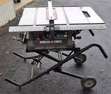 10 In Table Saw Porter Cable 15 Amp 10 In Table Saw Pc362010 Ebay