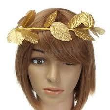 goddess headband goddess gold leaf laurel wreath headpiece toga fancy