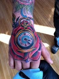 tattoo compass hand hand rose compass tattoo zoo